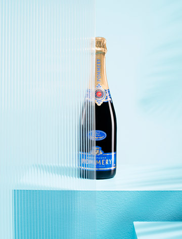 Projet photographie Brut Royal Champagne Pommery Ballade Studio